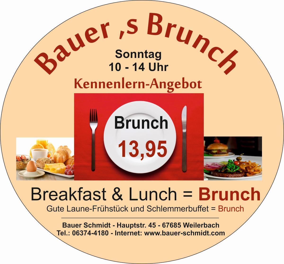 Bauer Schmidt - Brunch