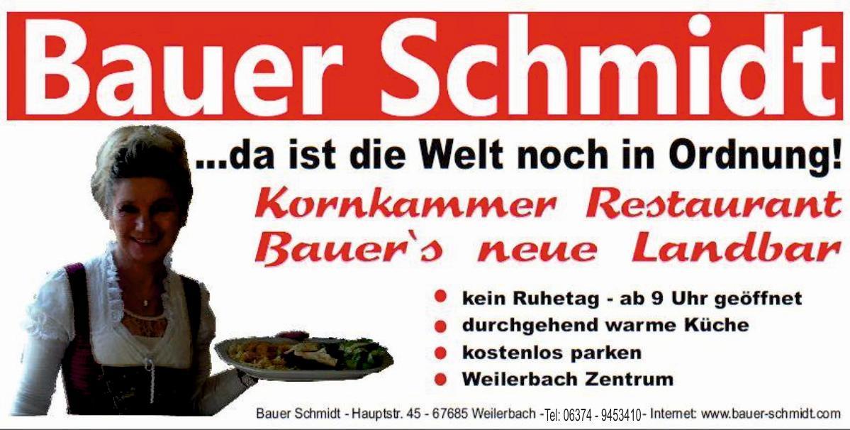 Der neue Bauer Schmidt
